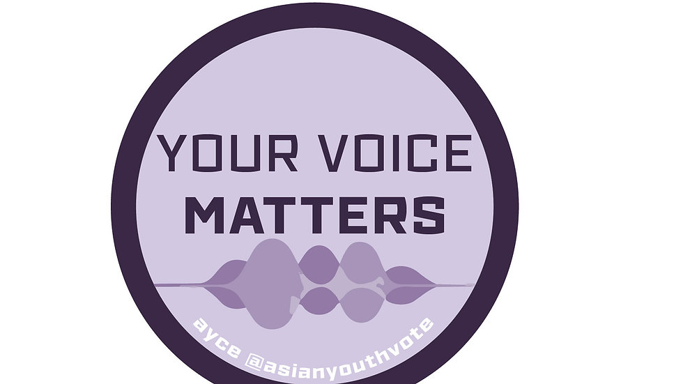 Your Voice Matters Sticker