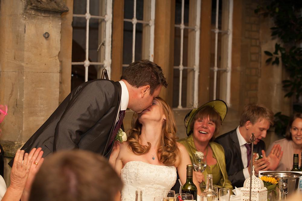 Wedding Videographer Reception