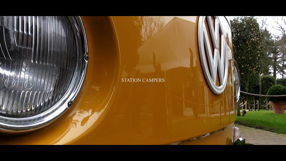 Wedding Videographer VW Camper Van