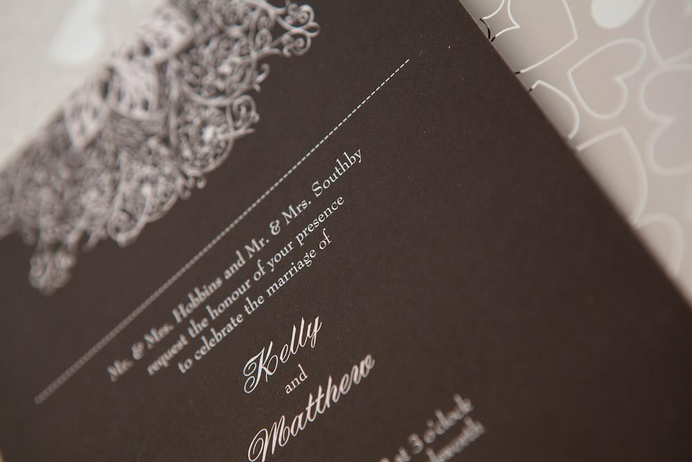 wedding videographer invitation