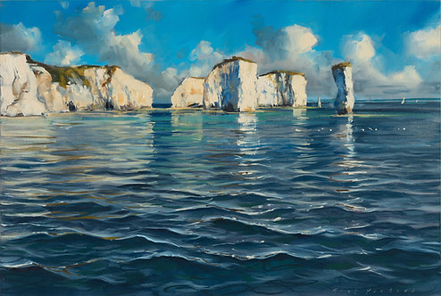 Old Harry 40x60cm approx.