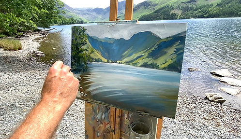 Painting Buttermere