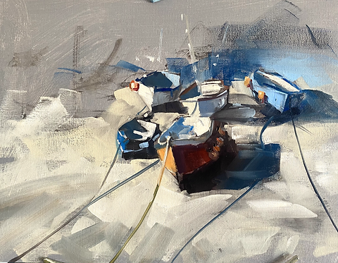 Coverack Boats: Painting Workshop
