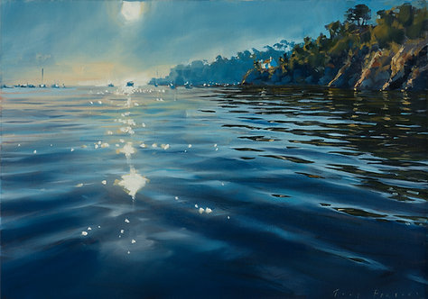 Calm Waters 42x60cm approx.