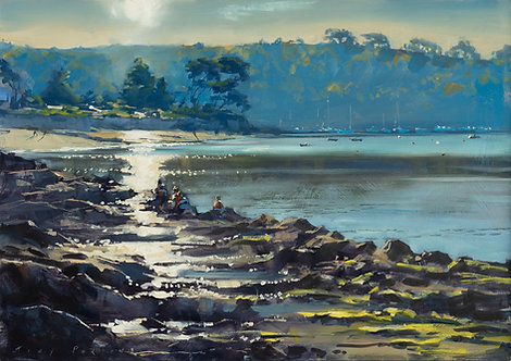 St Mawes Bay 42x60cm approx.