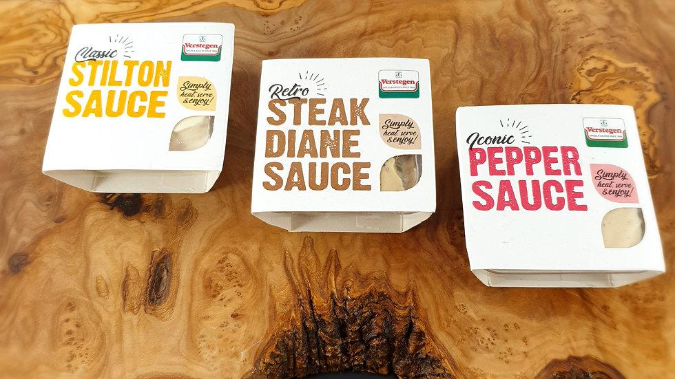 Verstegen Steak Night Sauces