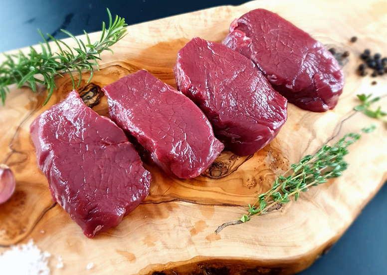 Venison Loin Steaks