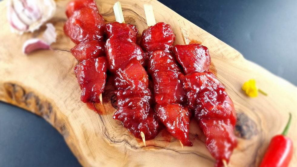 Chinese Chicken Kebabs