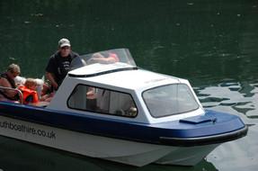 The Wilson Flyer Cabin Boat