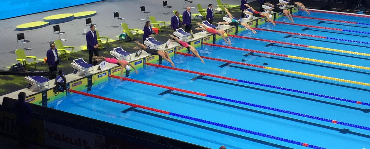 Myrtha Pool- International Swimming Competition Windsor