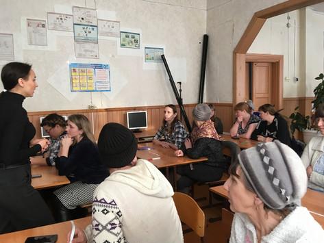 17 января 2020 года в пос. Каразей Куйтунского района прошли выездные занятия для родителей