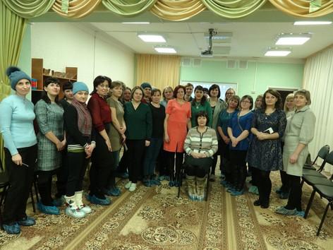 15 января 2020 года в г. Тайшете прошли выездные занятия для родителей