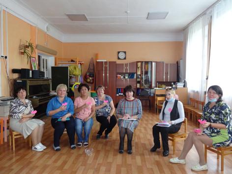 Тренинг для родителей детского сада №34