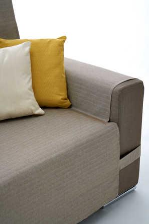 Cuscini per divano con penisola