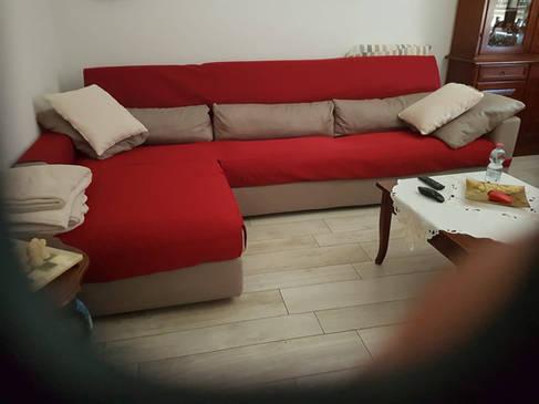 copri divano con penisola