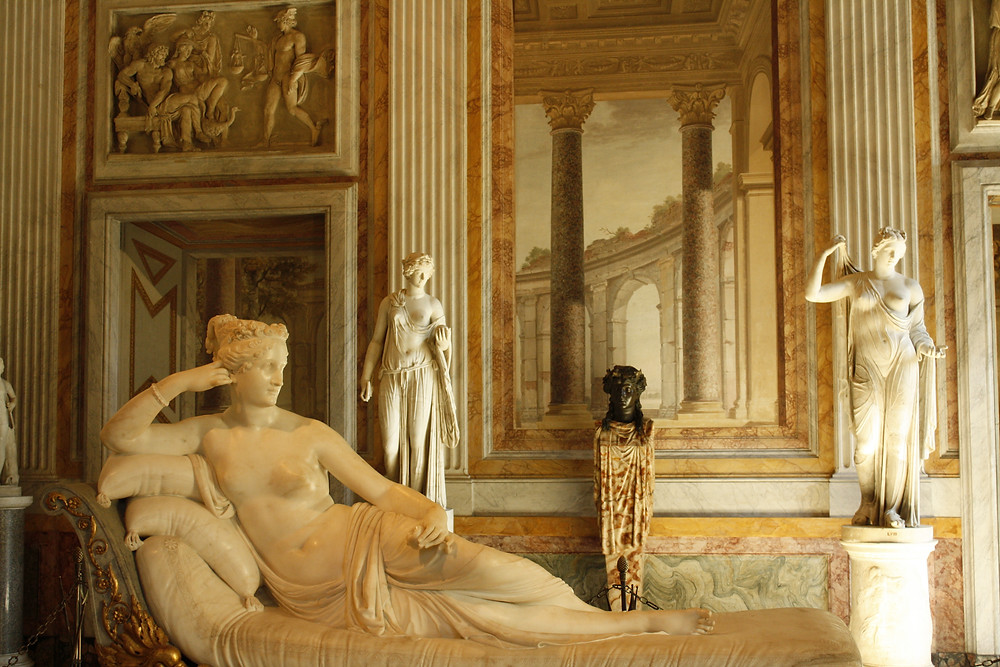 Antonio Canova's daring depiction of Napoleon's sister, Paolina Bonaparte Borghese