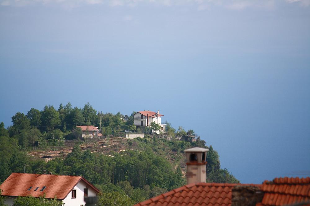 View from La Pennichella, Campora, Agerola,