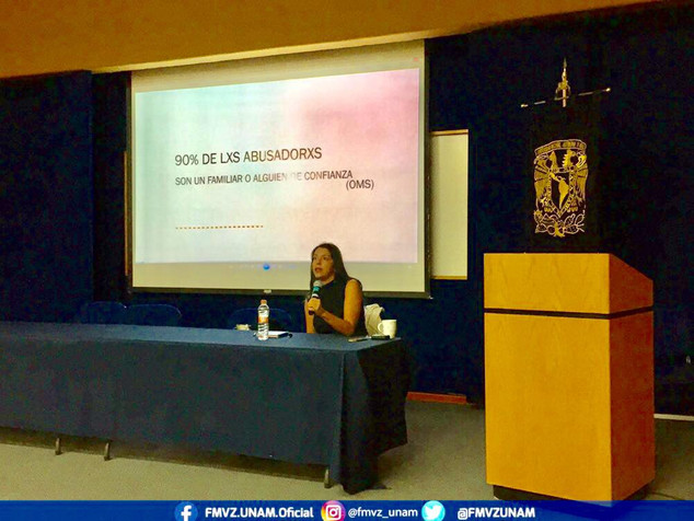 Conferencia en Facultad de Medicina Veterinaria y Zootecnia UNAM