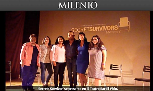 La obra 'Secrets Survivor' expone el abuso sexual infantil