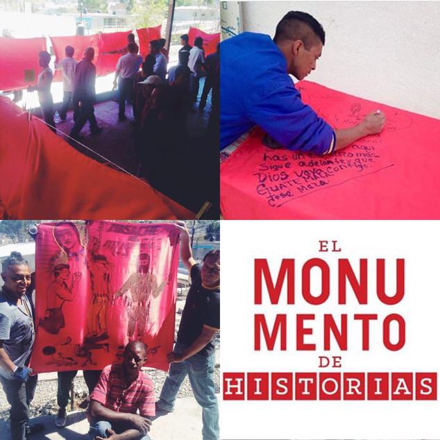La Casa del Migrante Saltillo & El Monumento de Historias