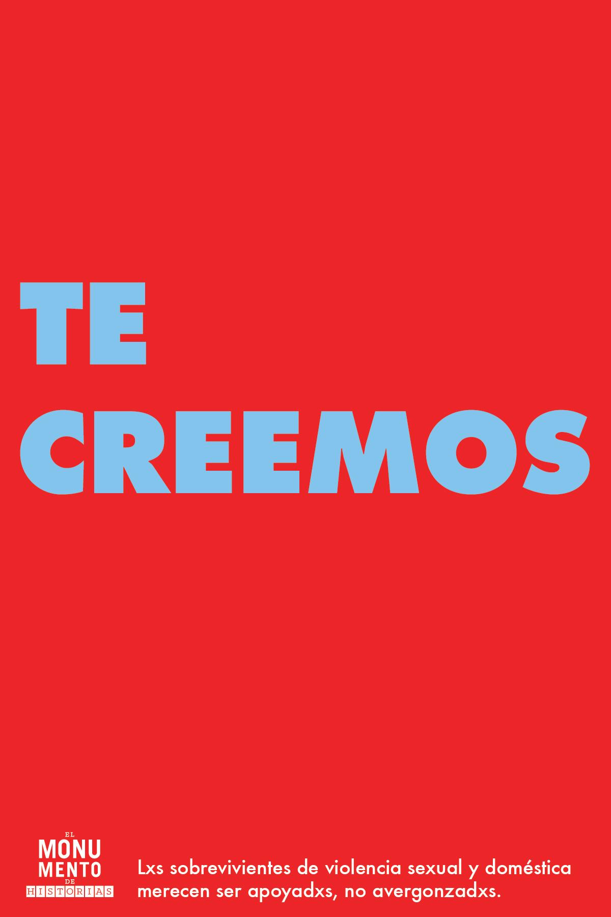 TE CREEMOS