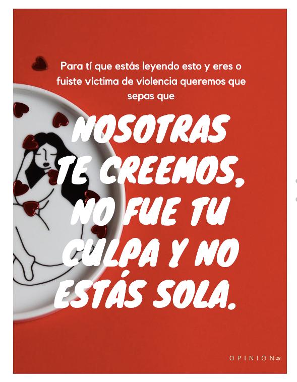 """""""El 8 de marzo como estandarte de denuncia"""" - Revista Coalición Nacional Campesina y Urbana"""