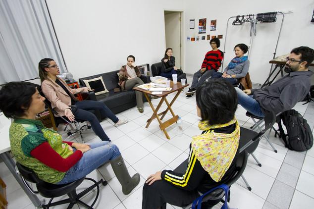 """Eu tenho o DEREITO..."" workshop in Sao Paulo, Brazil"