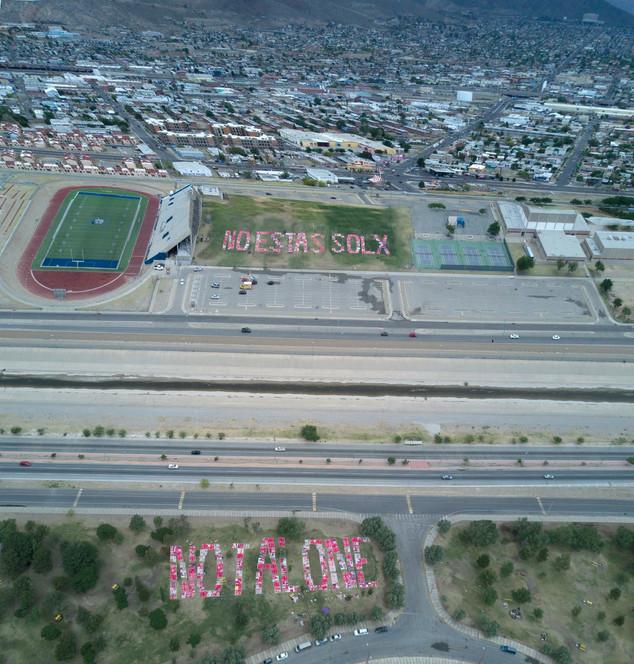 El Monumento de Historias en la frontera México-US