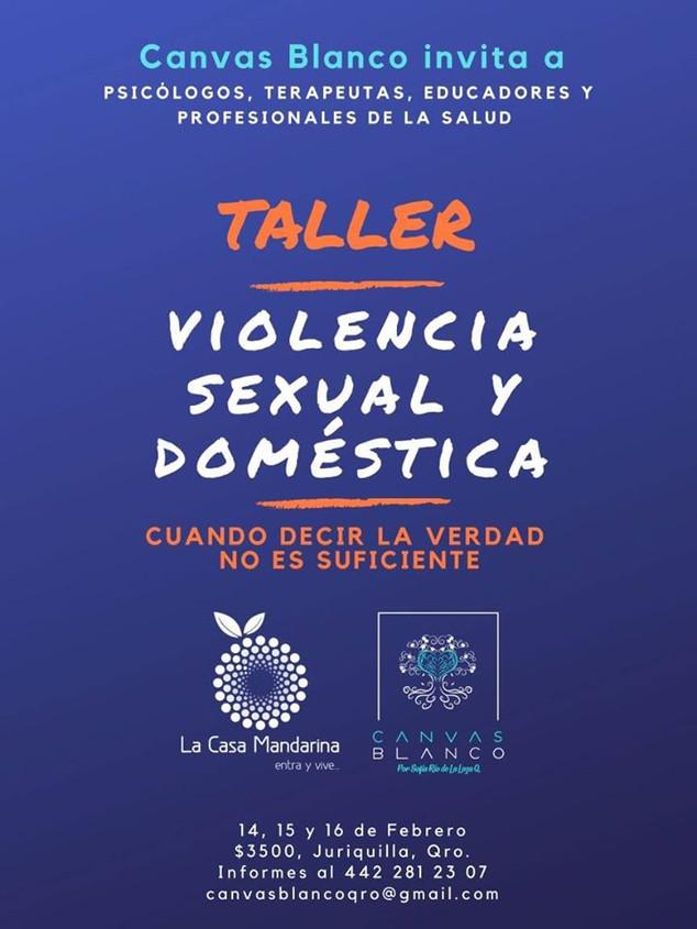 Taller intensivo en Querétaro.