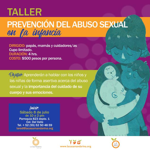 Taller prevención del abuso sexual infantil