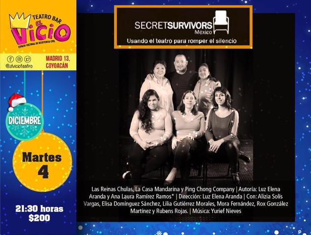 Gran función de aniversario de Secret Survivors México