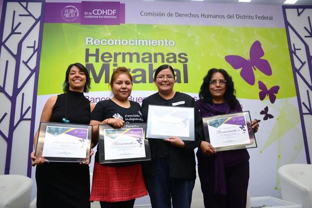 Premio CDHDF Hermanas Mirabal 2016