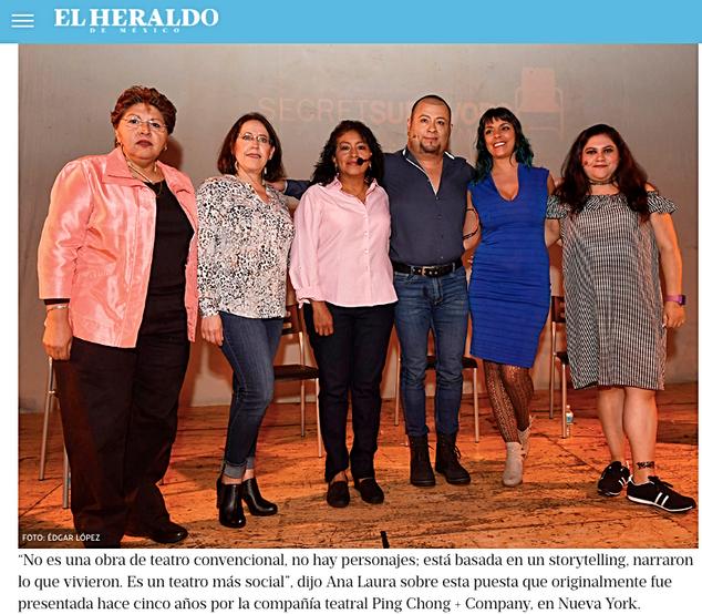 Secret Survivors México: narran en escena voces de abuso infantil