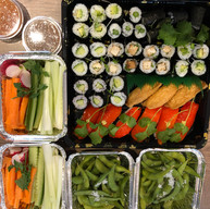 Vegetable platter party!
