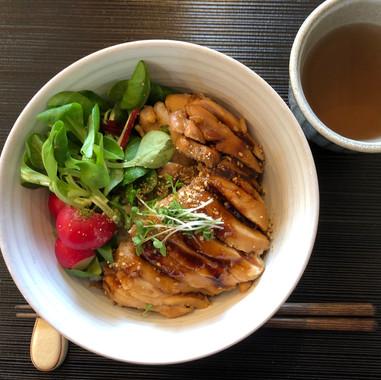 Teriyaki chicken donburi
