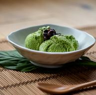 Matcha green tea icecream