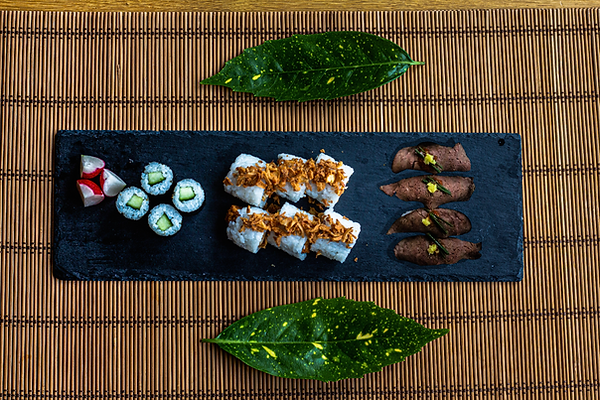 Sushi without the seafood platter update