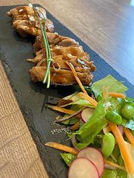 teriyaki chicken dish