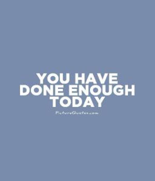 done-enough