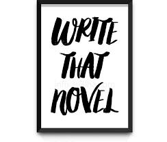 Om att skriva för att skriva