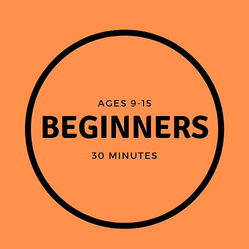 Monday 18:15-18:45 Beginners 9-15 with Zsofia