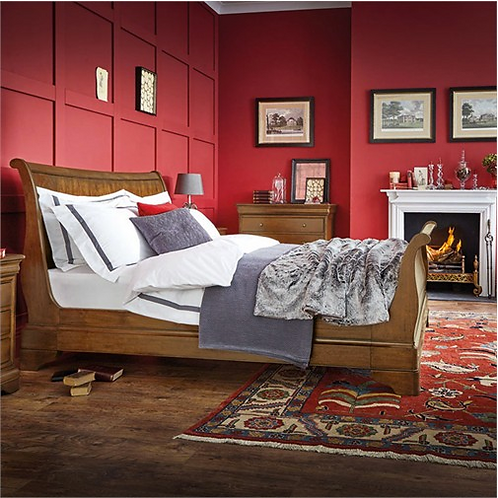 Provence Bedstead  |  Feather & Black