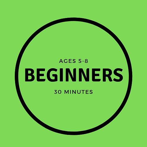 Saturday 08:00-08:30 Beginners 5-8 with Agustin