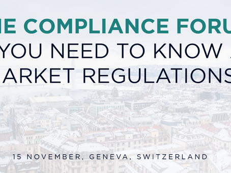 CME COMPLIANCE FORUM: WHAT DO I NEED TO KNOW ABOUT MARKET REGULATIONS?