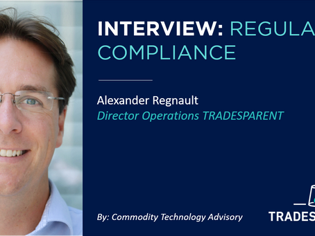 INTERVIEW ON REGULATORY COMPLIANCE WITH ALEXANDER REGNAULT