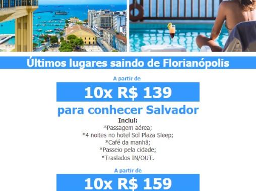 Sol, Praia e Calor é igual a Bahia