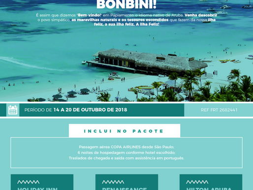 Conheça ARUBA a Ilha Feliz