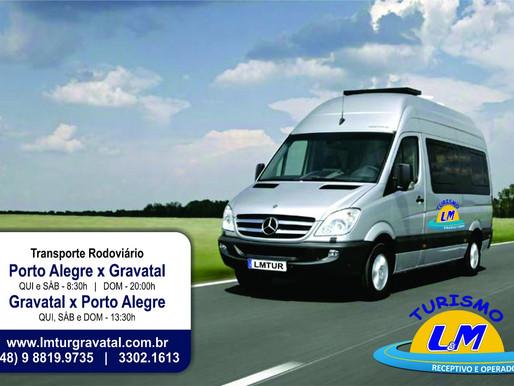 Transporte Porto Alegre X Termas do Gravatal