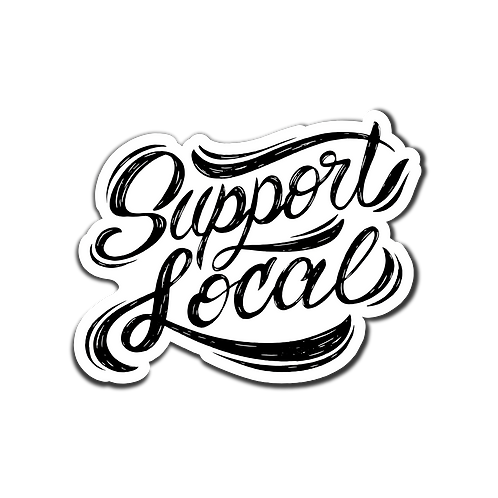 Support Local Sticker - 5 Pack