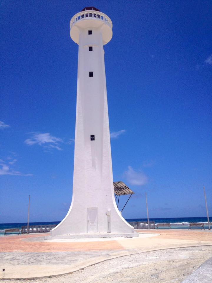 Mahahual Quintana Roo México. El Faro